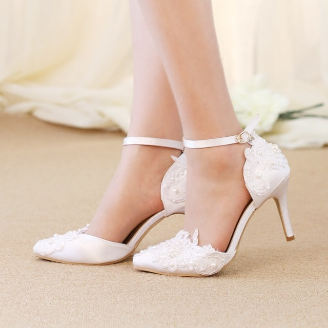 Popular White Pearl Heels-Buy Cheap White Pearl Heels lots from ...