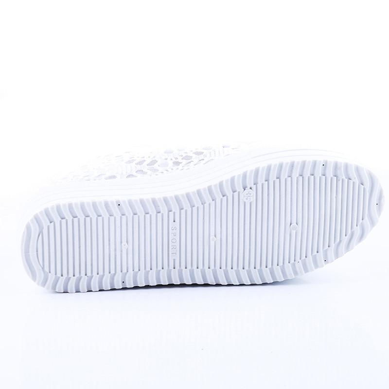 Sexy 1 Mode Femmes Plat Découpe Feminino 2 Casual Dentelle Sapato Toile Floral D'été Respirant 2018 Plate Chaussures Creux forme gxRqAA