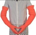 Fresshipping Удлинить сверхдальние 56 см водонепроницаемый резиновые перчатки чаша блюдо латексные перчатки Резиновые перчатки