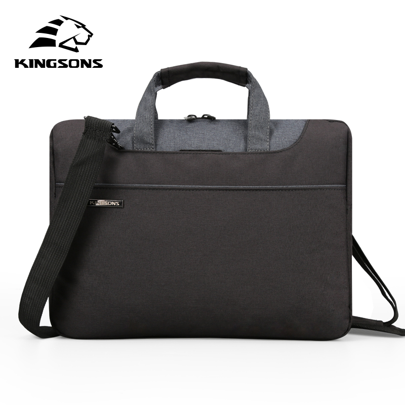 Kingsons High Quality Laptop Handbag for Men and Women Travel Bussiness Notebook Bag Large Capacity 11 13 14 15 Inch Computer xiyuan brand large capacity laptop handbag for men travel briefcase bussiness notebook bag for 14 15 inch macbook pro dell pc
