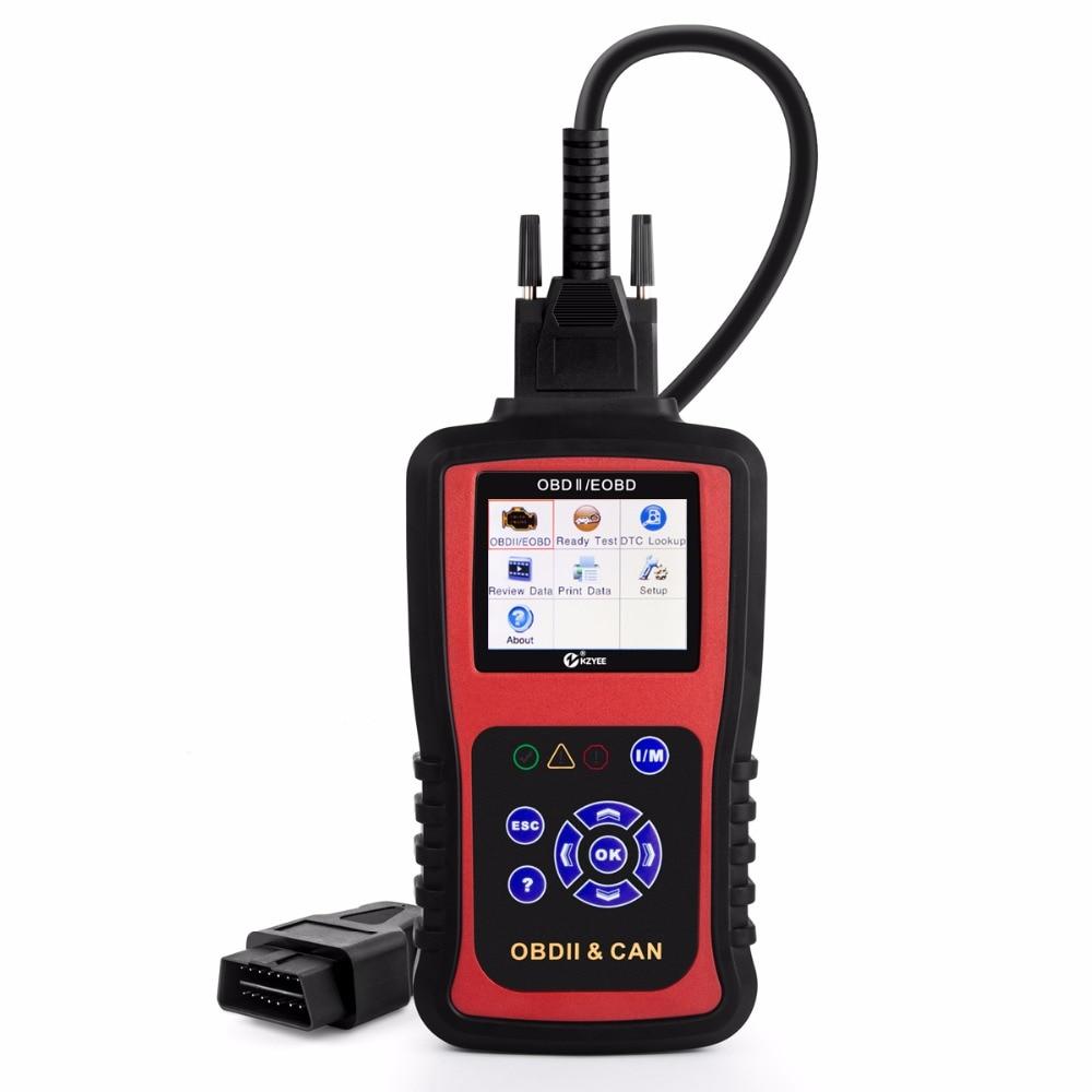 Цена за 2017 НОВОЕ Прибытие OBD2 Автомобильный Сканер OBD Автомобиля Диагностический Инструмент в Испанский Авто Code Reader Универсальный Инструмент Сканирования KC301