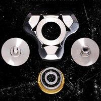 1 PCS Creative Fidget Spinner Steel Hand Spinner 606 Hybrid Ceramic Bearing Educational Toys Spinner Hand