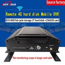 Прямо с фабрики 8CH 4G gps жесткий диск Мобильный DVR может добавить Wi-Fi Модуль грузовик без мертвых углов управления платформой PAL/NTSC