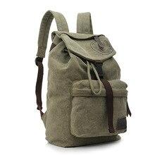 2016 Fashion men canvas backpack national school backpack bag for teenagers mochila men ethnic rucksack