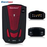 Excelvan 360 Degree Car V7 Radar Detector Anti Police Full 16 Band Red Speed Safety Scanning