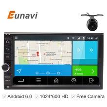 Универсальный двойной 2 DIN 1024×600 Android 6.0 Quad Core 7 дюймов 2din dvd-радио GPS плеер для Nissan с Wi-Fi Bluetooth