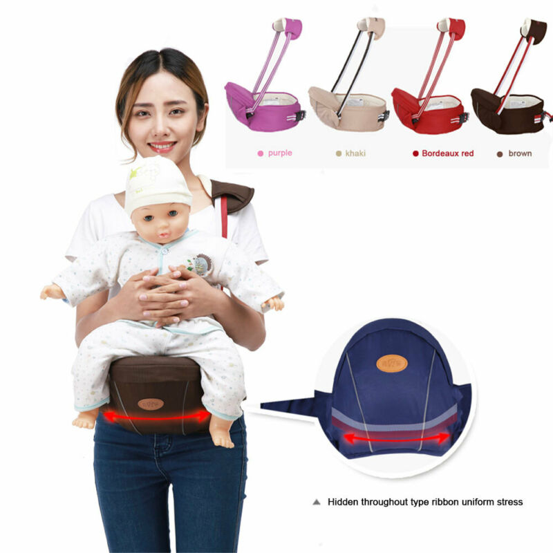 2019 Brand New Hot Selling Infant Baby Bag Waist Stool Baby Strap Belt Child Baby Carrier Strap Hip Seat  Front Holding Belt