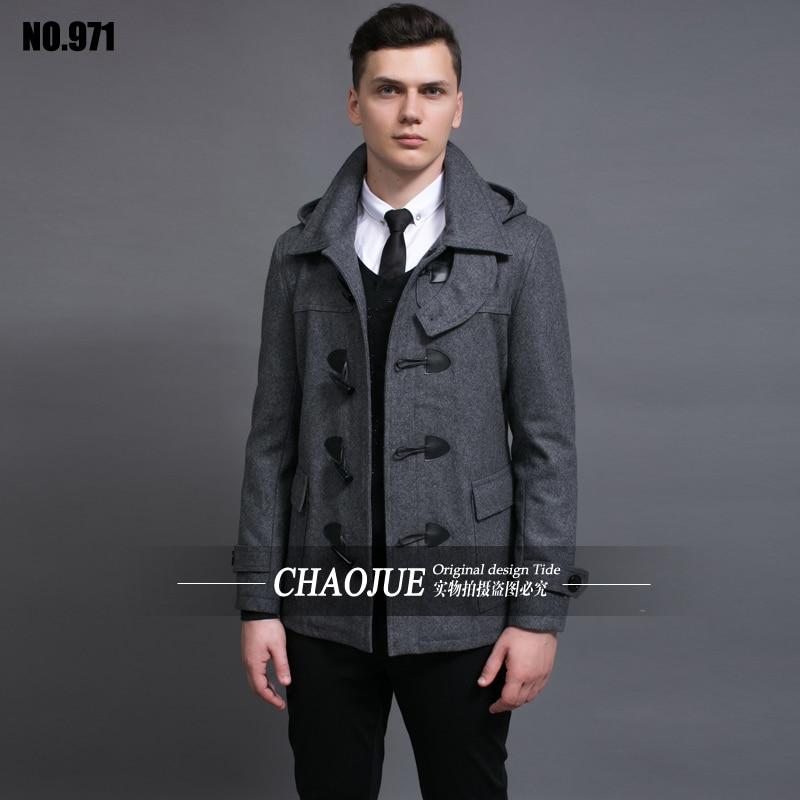 High Quality Hooded Wool Coat Men-Buy Cheap Hooded Wool Coat Men