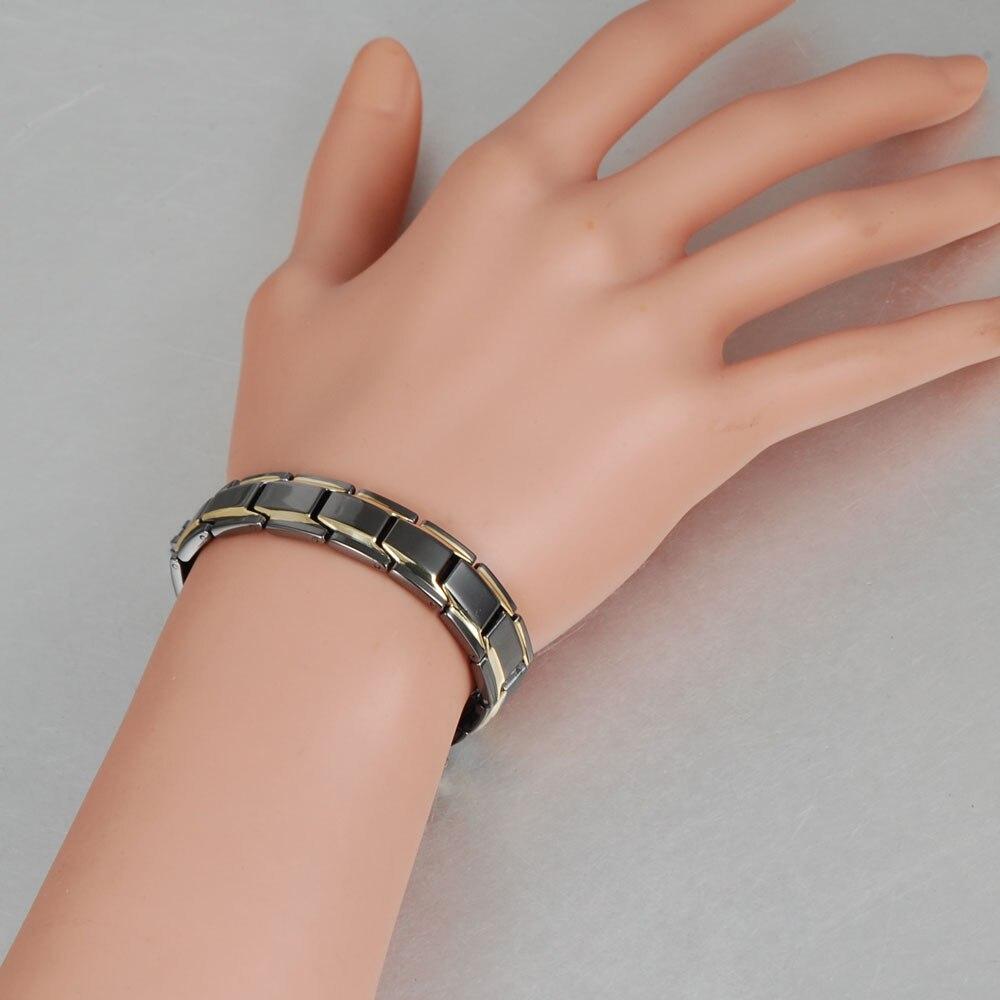 Black Negative Ion Bracelet for Men