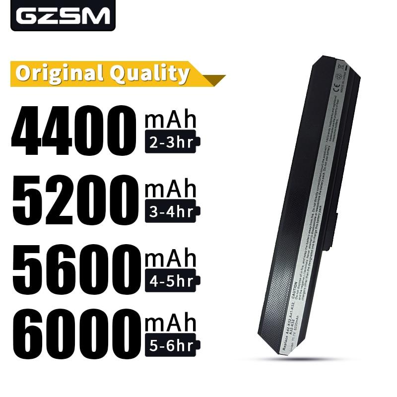 HSW Laptop Battery For Asus K52 K52D K52DE K52DR K52F K52J K52JB K52JC K52JE K52JK K52JR K52N K62 K62F K62J K62JR Laptop Battery