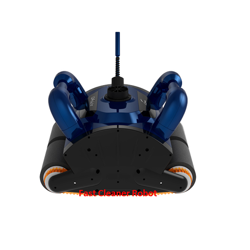 Deep Blue Robot Swimming Pool Cleaner iCleaner-200 With 15m Cable and Caddy Cart For Big Pool Automatic Cleaner Pool Cleaner