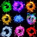 Hot Christmas Lights 10m 50 leds Xmas String Light Garland Fairy Tree Garden Ornaments Outdoor Decoration for home EU US Plug
