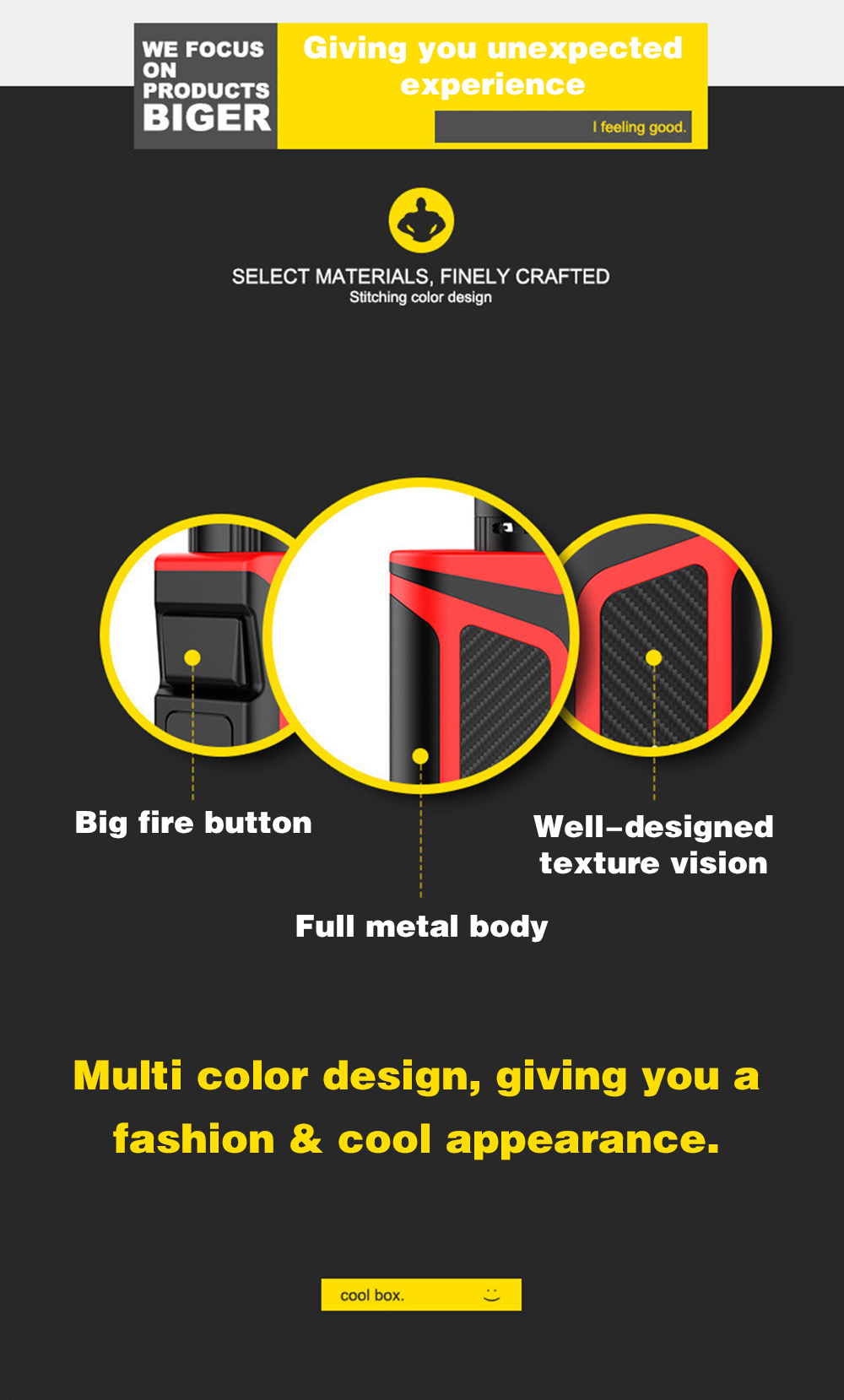 DOTENT 80W Starter Kit 2000mAh Battery 510 Thread Metal