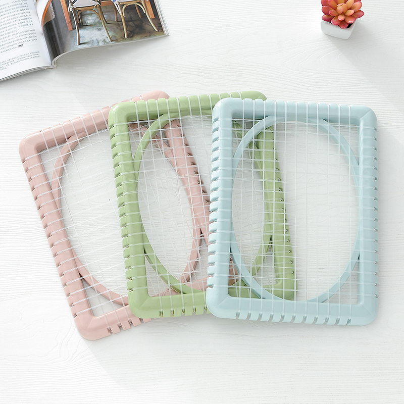 Summer Seat Cooling Pad Mesh Seat Mat Plastic Air Breathable Chair Cushions Pads For Students Office Worker K1058 B(China)