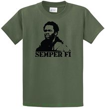Chris Partlow Semper Fi Custom T-shirt The Wire Hbo Gangster O.g. Street Kids 99 Cotton Loose Short Sleeve Mens Shirts(China)