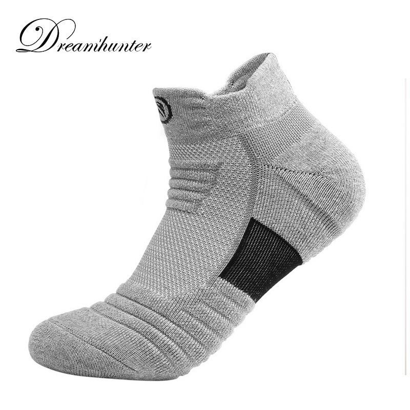 Breathable Sweat Sports Socks For Men Low Cut Cotton Running Cycling Socks Joggers Outdoor Cycling Socks Men
