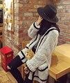 New 2015 Hot sale elegant women genuine  mink fur jacket women real mink coat with hood lady fur outerwear