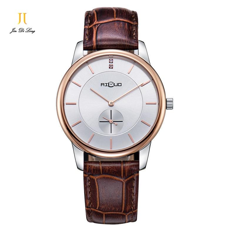 Quartz Watches Men Luxury Top Brand Watch party lovers Dress Watches Leather Fashion Casual trendy Wrist watches women/men