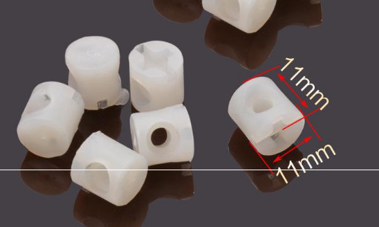 Furniture Accessories Furniture Embedded Nut, Plastic Hammer Nut, Two In One Connector, Screw Embedded Nut, Furniture Hardware