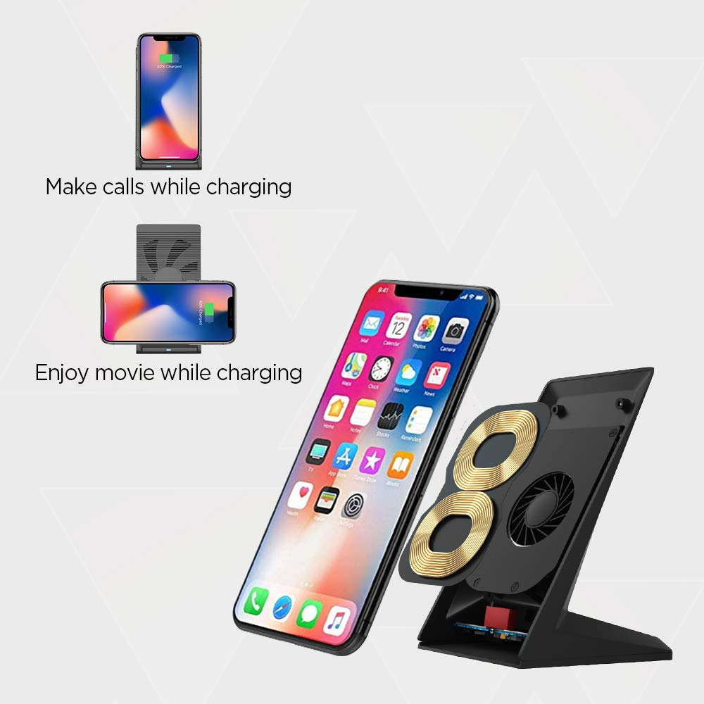 iPhone Vertical Charging Qi 8