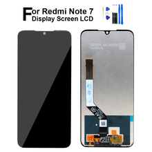 Original LCD for Xiaomi Redmi Note 7 Display Touch Screen Digitizer LCD Replace for Xiaomi Redmi Note 7 Pro Screen Repair Parts for xiaomi redmi note 3 note 3 pro 150mm original new black gold white lcd display touch screen digitizer frame bezel parts