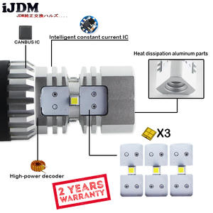 Image 4 - iJDM HID White 3157 LED Powered P27/5W P27/7W T25 LED Bulbs For Daytime Running Lights, DRL For 2011 and up Jeep Grand Cherokee