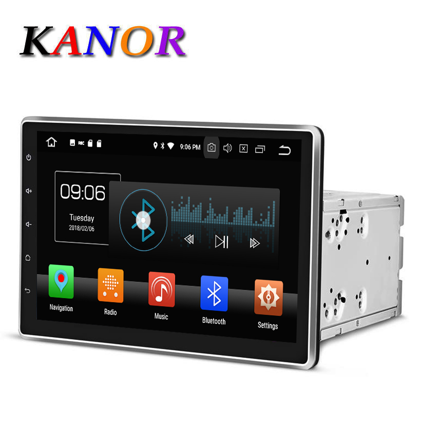 KANOR Android 8 0 Octa Core 4g 10 1 inch IPS Double 2 din font b