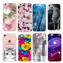 For capinha iphone 7 plus Case Soft Flower Cover For Iphone 8Plus Iphone8 8 Plus 5 5S SE 6 6S 7 7S Funda accessories luxury(China)