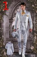 2018 индивидуальный заказ Slim Fit Вышивка смокинги друзей жениха (куртка + брюки + жилет) жених свадьба мужской костюм комплект для выпускного Дл