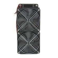 1 шт. 240 мм алюминиевый компьютерный радиатор водяного охлаждения кулер 2 вентилятора Fr cpu Радиатор 10166