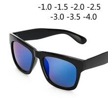 ФОТО prescription -1.0 -1.5 -2.0 fashion finished myopia sunglasses men women short sighted optics eyewear