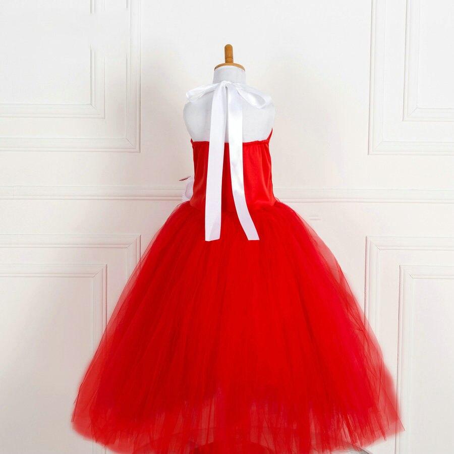 Hotsale petit mädchen 2017 lange kleid hochzeit rot mädchen ...