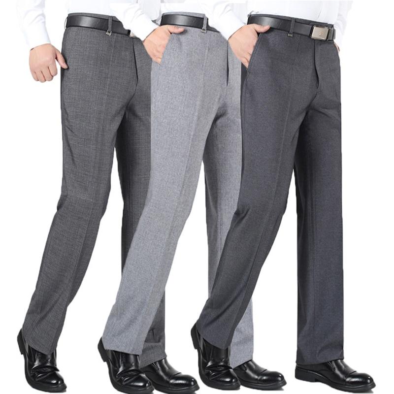 primăvară și vară 2019 subțire mens pantaloni rochie de mijloc - Imbracaminte barbati