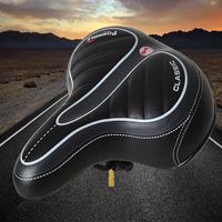 Hobbylane mountain bike wide saddle seat estrada mtb da bicicleta grande bunda respirável almofada do assento