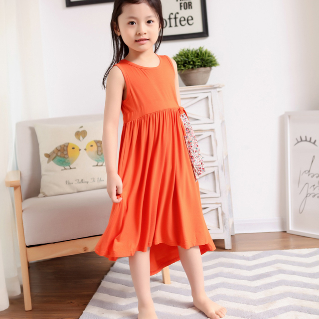 Casual cotton summer beach dresses