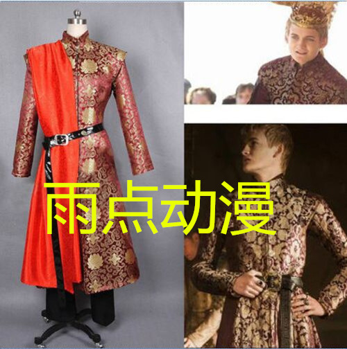 [Stock]Game of Throne the Song of Ice and Fire Kingslanding Joffery cosplay costume Court style Dress full set Halloween