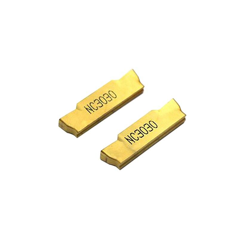10 pces mgmn300 m nc3030 3mm grooving inserções de carboneto MGMN300-M torno cortador torneamento ferramenta de separação e grooving ferramenta de separação fora