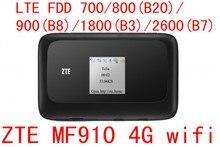 ZTE MF910 band 28 LTE 4G WIFI Router 4G wifi dongle Mobile Hotspot 3g 4g mifi Router pocket wifi pk mf90 mf91 mf93 mf823 mf90c