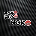 NO.TP039 MOTO GP SBK NGK Reflective Car Sticker Decals Motorcycle Racing Stickers Motorbike stickers Helmet Windshield ATV
