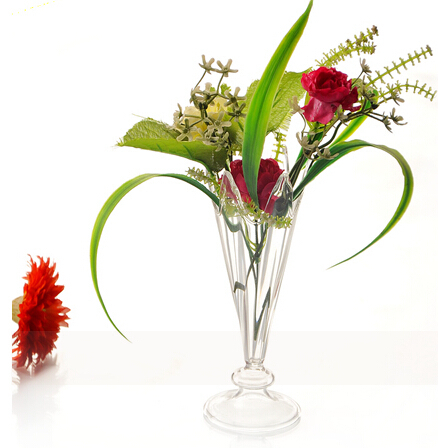 cristal de regalo del da de san valentn decoracin de la boda florero floreros de cristal