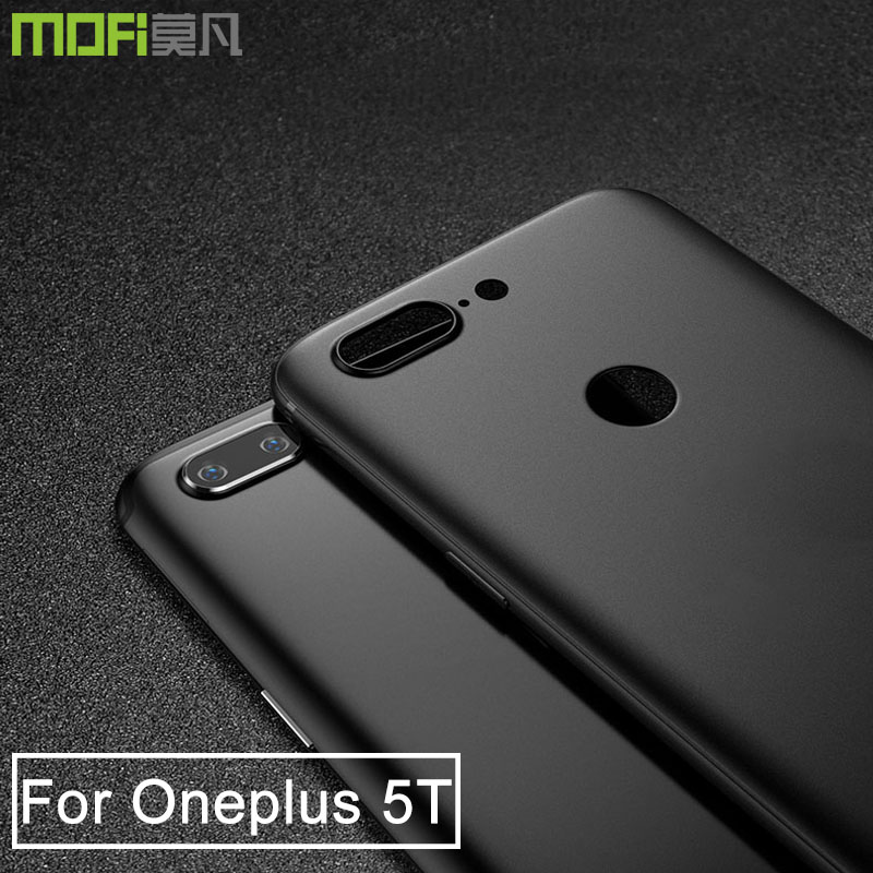 Oneplus 5t case cover TPU slim oneplus5t back cover mofi original OnePlus 5t A5010 soft funda clear oneplus one 5 transparent