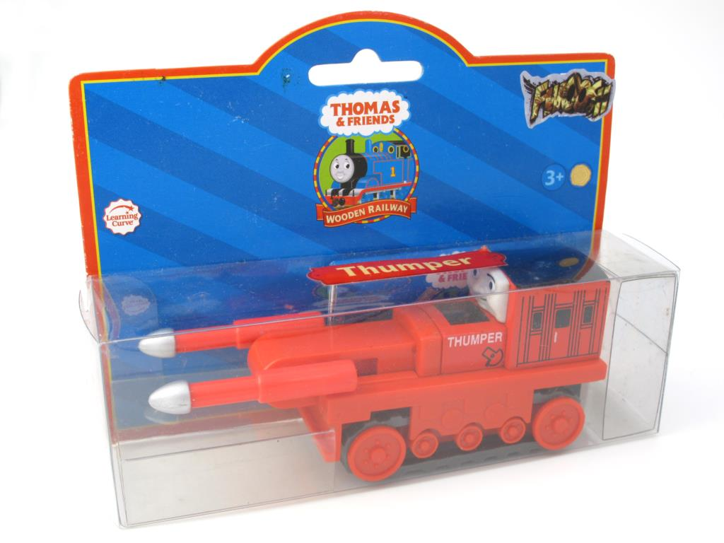 Wooden Thomas Train T131W THUMPER Thomas And Friends Trackmaster Magnetic Tomas Truck Locomotive Engine Railway Toys for Boys