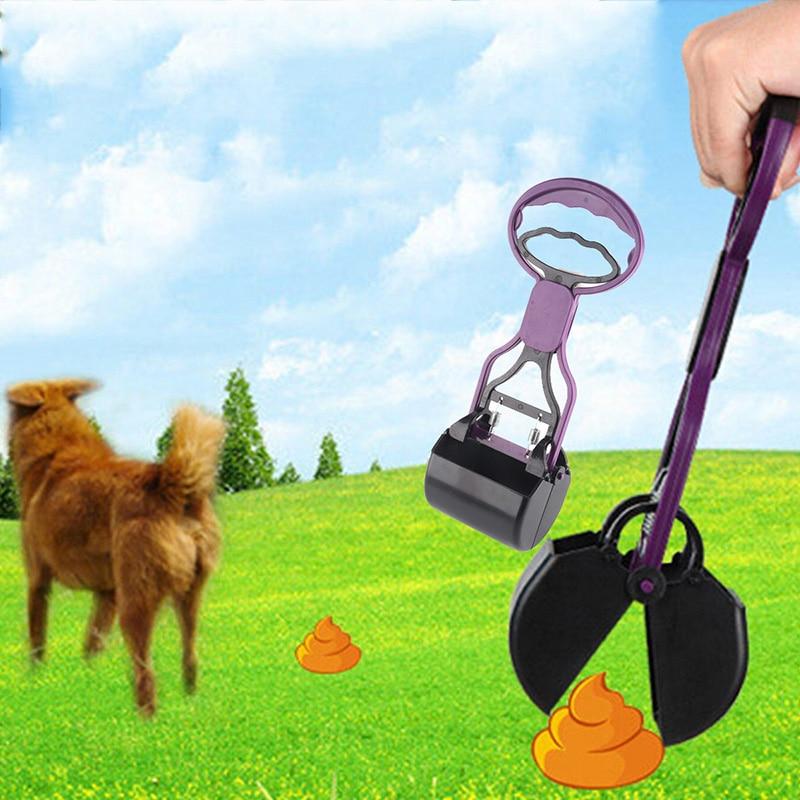 Hund katteaffald pooper scooper poop poo scoop shit ren - Pet produkter - Foto 1