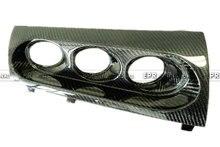Для Mitsubishi Evolution EVO 10 M7 Стиль Углеродного Волокна Трехместный Gauge Pod Держатель 60 мм (RHD)
