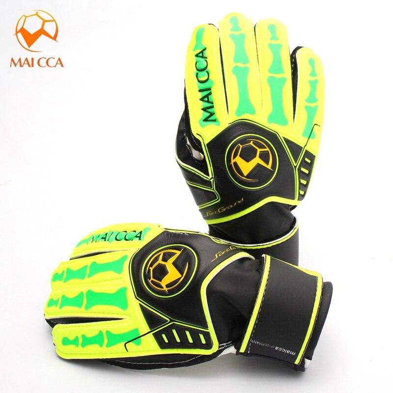 2017 New Brand Kids Goalie Gloves Size 5 6 Kids Soccer Goalkeeper