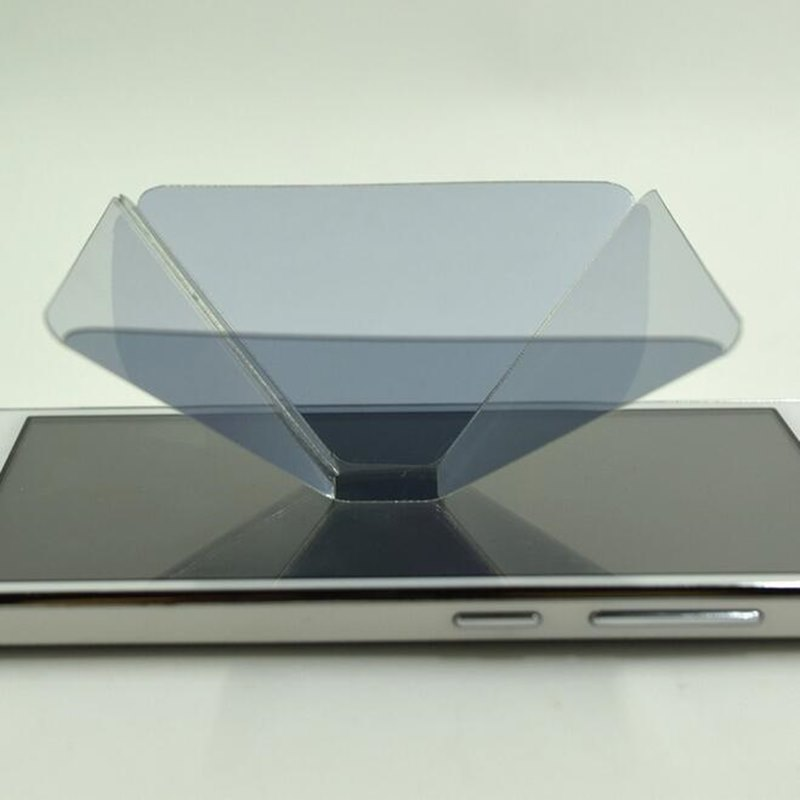 Zerosky Holographic Frame Pyramid By Cellphone Smartphone 3D ...