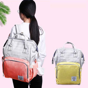 Image 3 - Diaper Bag for mother backpack Large Capacity travel Mom wet nappy bags Tote maternity backpack Baby care stroller Bag organizer