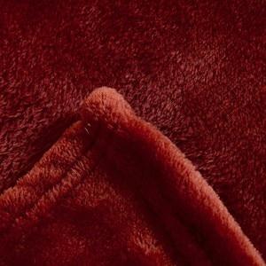 Image 2 - CAMMITEVER 6 размеров кофейного цвета, мягкое одеяло, домашний текстиль для воздуха/дивана/постельных принадлежностей, фланелевое одеяло, зимнее теплое мягкое постельное белье