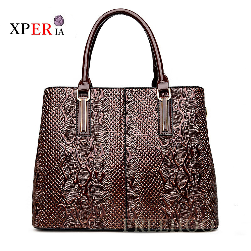 Fashion Serpentine Ladies Hand Bags Luxury Handbags Women Bags Designer Big Capacity Women Crossbody Bag Hot Bolsos Mujer ...