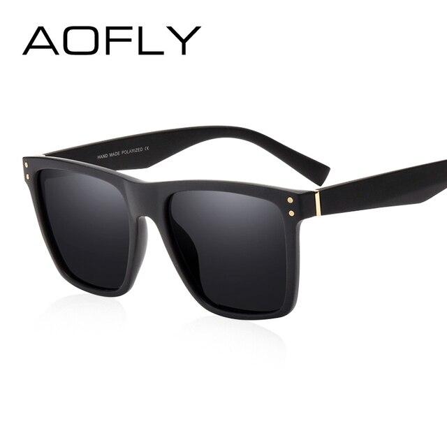 AOFLY Men Polarized Sunglasses Vintage Male Sunglasses Polaroid lenses Fashion Brand Designer Goggles Oculos Gafas De So AF8033 1